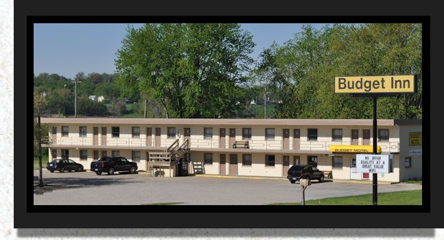 Budget Inn Motel, Denison Iowa , Double Room